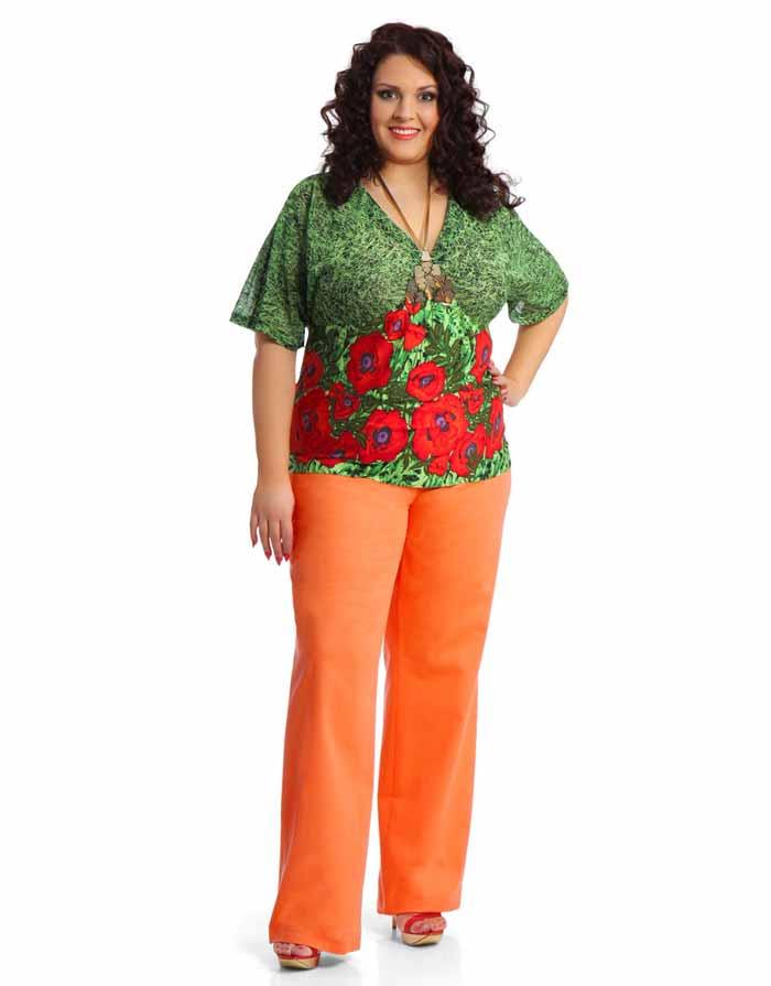 Модная женская одежда для толстушек женщин наташа