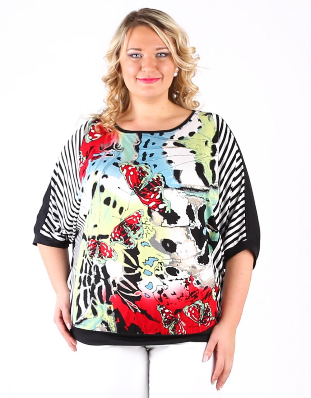 Купить Блузку Для Полных Доставка