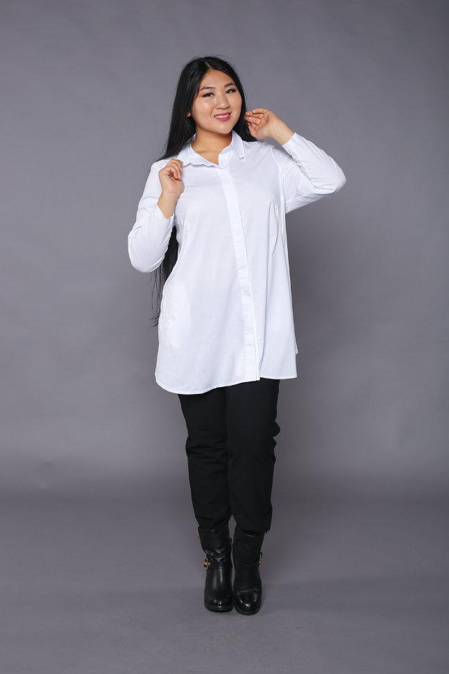 Белая Рубашка Туника С Доставкой