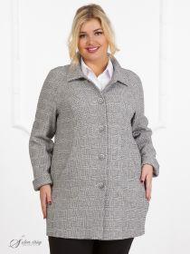 3bd2919c4e1f Женские пальто больших размеров - купить в интернет-магазине
