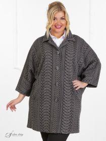 102989f8bfd Женские пальто больших размеров - купить в интернет-магазине