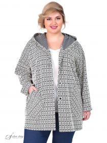 a80e1db4f68 Женские пальто больших размеров - купить в интернет-магазине