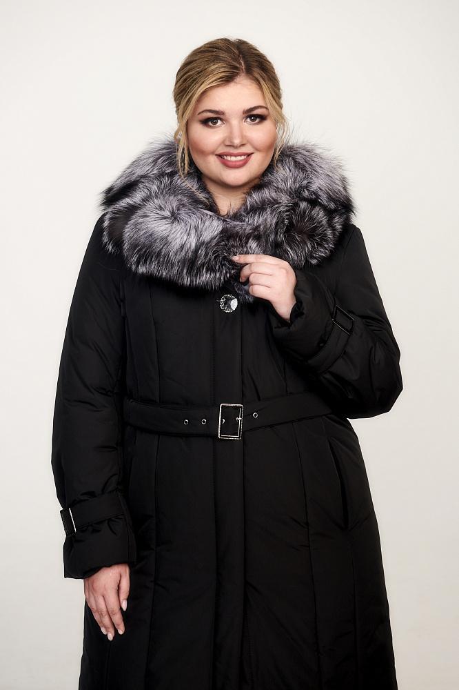 Зимнее пальто женское больших